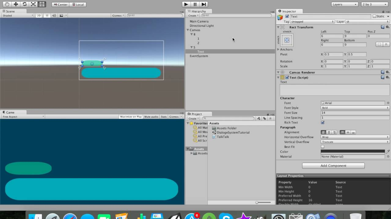 Making Visual Novels In Unity3D For Free Part 1