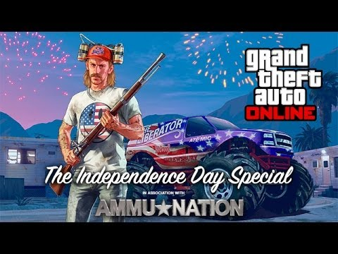 GTA Online: Rockstar Socialclub - Independence Day Event Weekend (3-6 July 2014)