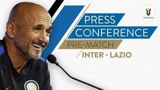 INTER vs LAZIO | Luciano Spalletti Pre-Match Press Conference LIVE