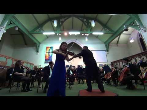 Anny Chen -  Tchaikovsky Concerto   Mov  2 Canzonetta