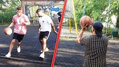 Vassili VS Azad VS Massi VS Zuschauer | Basketball Vlog