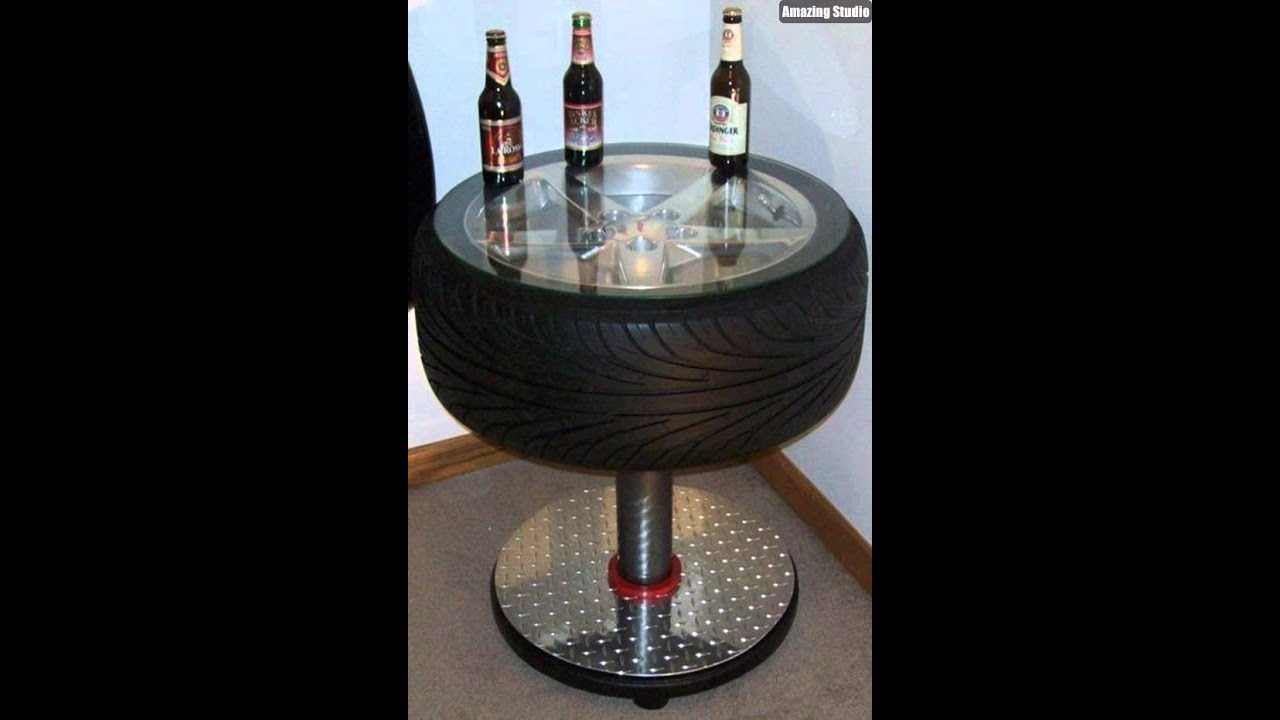 - Cool DIY Tire Table Ideas - YouTube