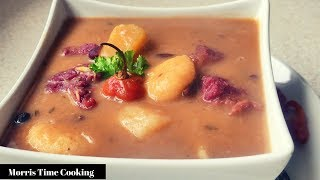 Red Peas Soup With Beef | Jamaican Style | Lesson #18 | Morris Time Cooking