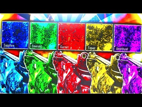 5 *NEW* CRAZY PACK-A-PUNCH DLC CAMOS IN BLACK OPS 3! - NEW DLC DARK MATTER CAMO COLORS! (BO3 DLC 5)