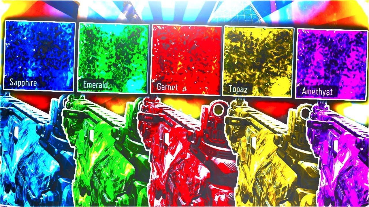 5 New Crazy Pack A Punch Dlc Camos In Black Ops 3 New