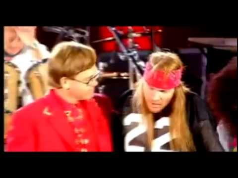 Axl Rose e Elton John - Bohemian Rhapsody - (Freddie Mercury Tribute Concert)