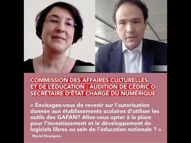 Commission des affaires culturelles et de l'éducation.