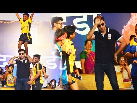 Ranbir Kapoor Celebrates Janmashtami With Young Fans In Mumbai!