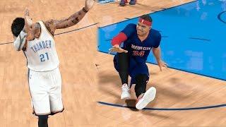 NBA 2k17 MyCAREER - Denver 1v1 Gone Wrong! Triple Ankle Breaker + Justice Cooking! Ep. 146