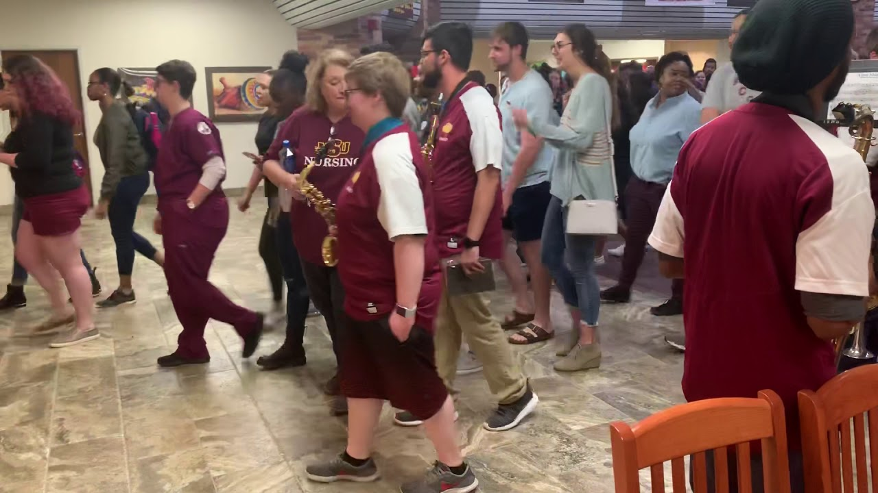 The Wichitan | Over 100 students attend the senior Campus Walk