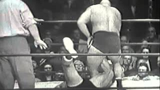 BOCKWINKEL & BLASSIE vs PASANDAK & MR.MOTO 2/3 1950s Wrestling