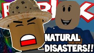 Roblox | NATURAL DISASTER! | MAJOR EARTHQUAKE!