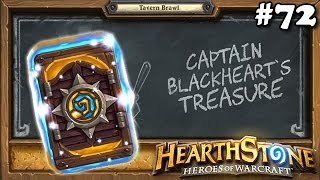 Hearthstone BlizzCon 2016 Card Back e Tavern Brawl O Tesouro do Capitão Coração Negro #72
