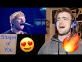 Ed Sheeran – Castle On The Hill & Shape Of You feat  Stormzy Live Brit Awards 2017 WOW!!