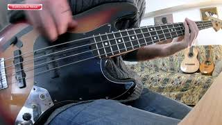 Tom misch it runs through me bass cover with notation and tabs