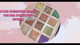 KYLIE COSMETICS UNDER THE SEA SUMMER 2019 COLLECTION REVEAL + SWATCHES