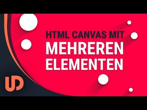 HTML Canvas mehrere Elemente erschaffen mit JavaScript! [TUTORIAL] thumbnail