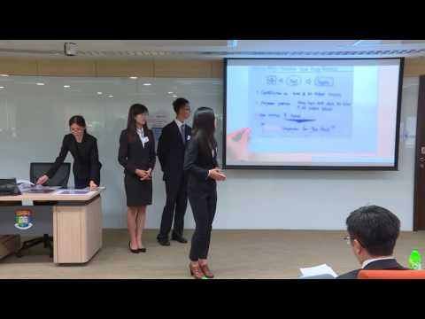 2016 Round 3 C1 HSBC/HKU Asia Pacific Business Case Competition