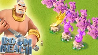 UNLOCKING the DIAMOND TROPHY!! Boom Beach Tribal Mega Crab!