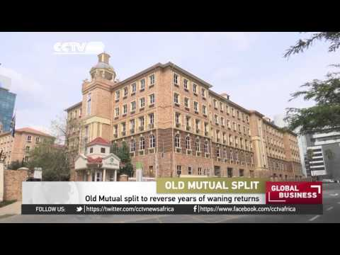 Anglo-South African firm Old Mutual to split up into 4 operations