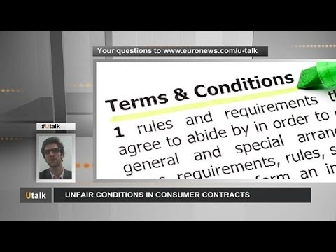 Οι άδικοι όροι στα καταναλωτικά συμβόλαια - utalk