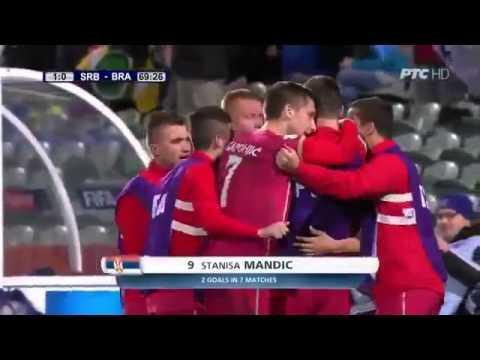 Brazil - Serbia 0:1 (U20) SP 2015