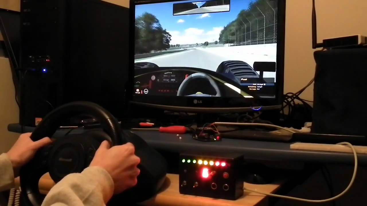 DIY Dashboard @ FergoTech – Simracing hardware and tools