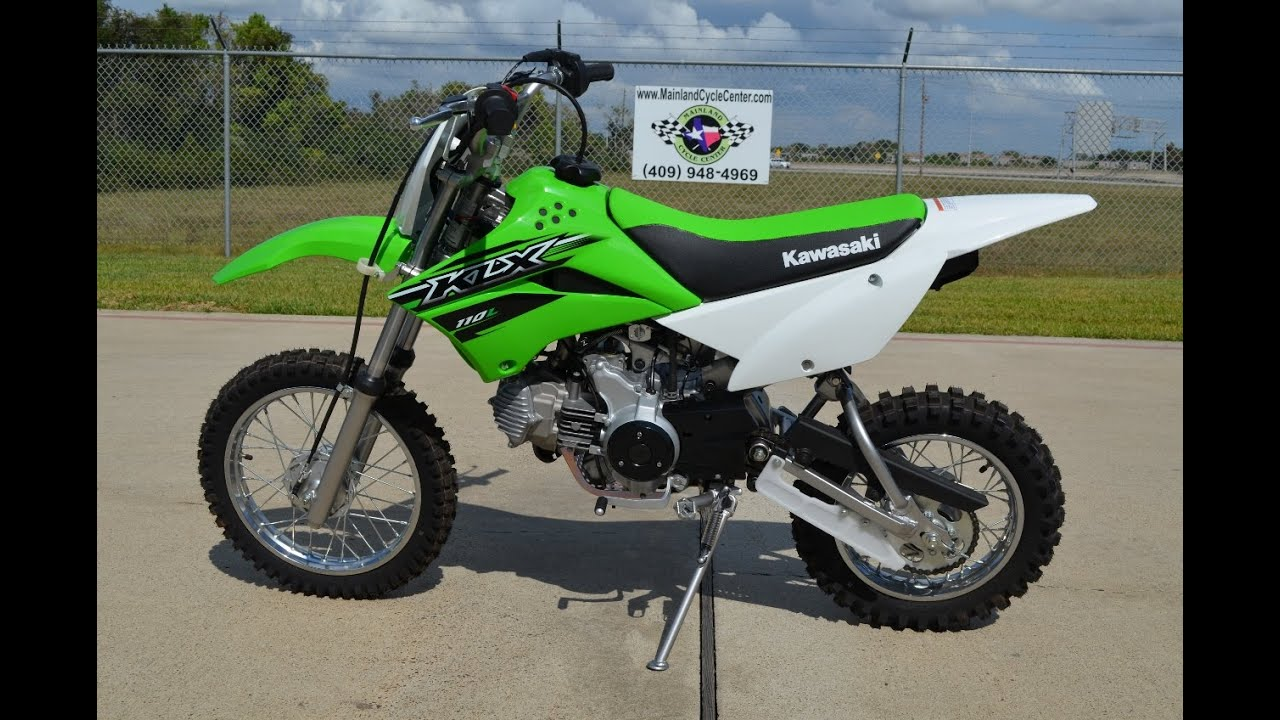 $2,499: 2015 Kawasaki KLX 110L Overview and Review - YouTube