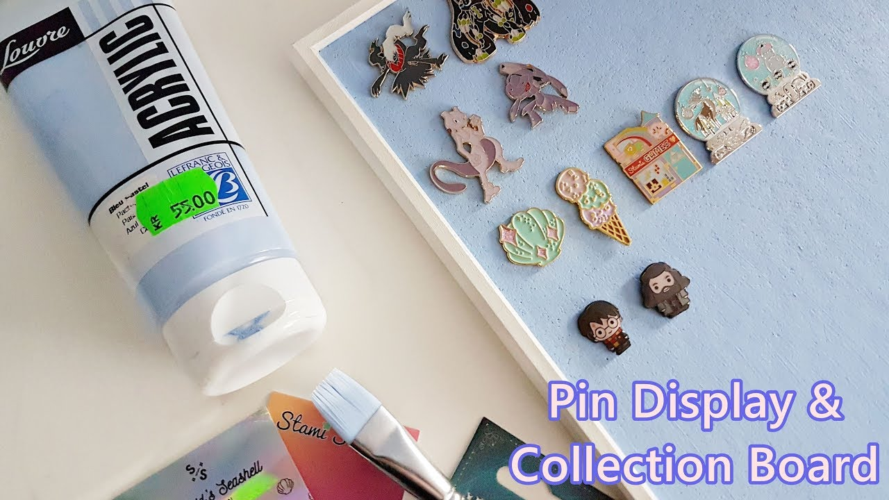 Getting a Pin Board | Display Enamel Pins & Keyring DIY Collection IKEA