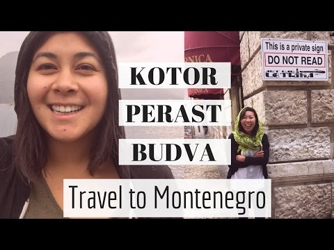 Travel to Montenegro - Bay of Kotor, Perast, and party in Budva