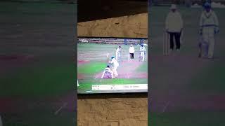 Faisal Iqbal bowling during English League cricket season 2018 for sandfordCC