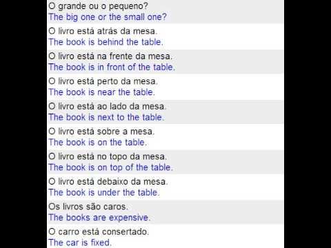 Curso De Ingles Dinamico Gratis Frases Com As Letras S E T