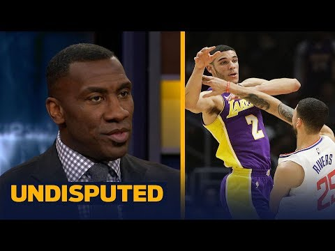 Lonzo Ball scores 3 points vs Clippers - Should the Lakers be worried he's a bust? | UNDISPUTED