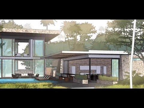 Concept Drawing Workflow Part 1 Prepping The Sketchup Model Youtube
