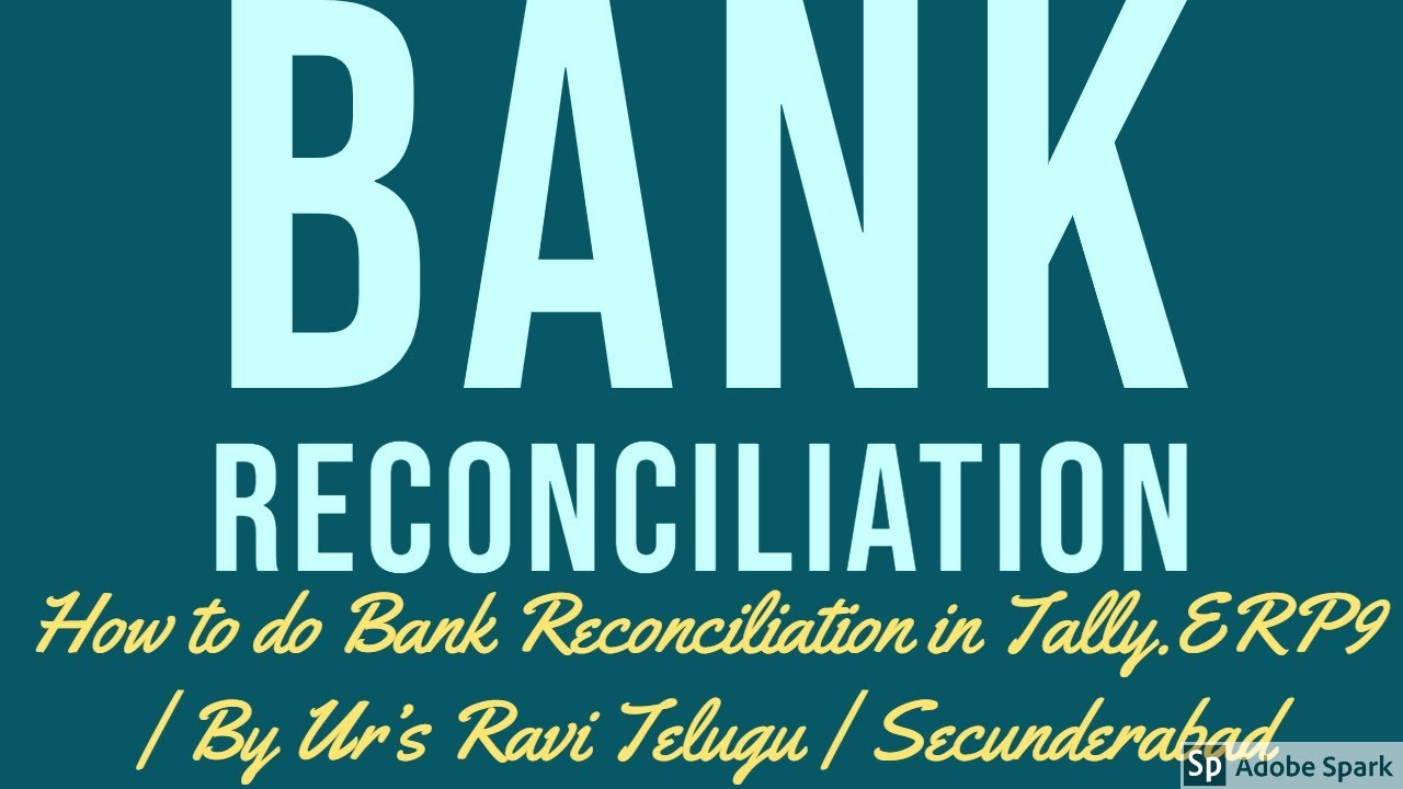 7  bank reconciliation statement in tally