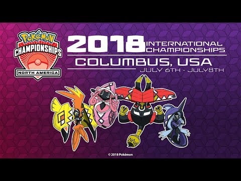 2018 Pokémon North America International Championships - Main Stage Day 1