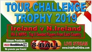 Tour CHALLENGE Trophy 2019 : 8-Ball : Ireland v N.Ireland, Lakeside Manor Hotel, Virginia, Cavan