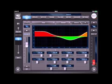 RCF M18 Digital Mixer Tutorial 5