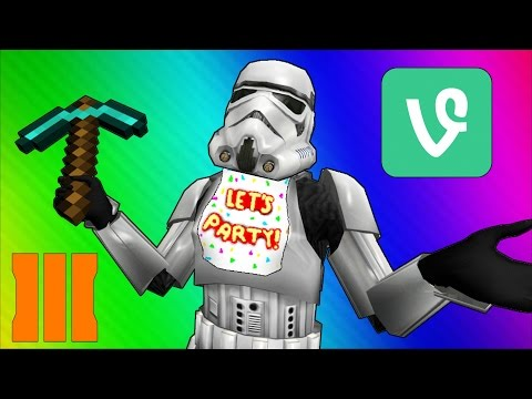 Thumbnail: Cod Zombies Funny Moments - Star Wars 7, Minecraft, FNAF, BO3, Vine, Prank!