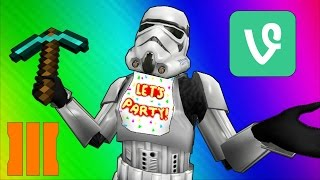 Cod Zombies Funny Moments - Star Wars 7, Minecraft, FNAF, BO3, Vine, Prank!