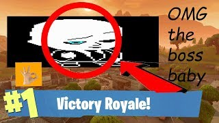 OMG THE BOSS BABY RETURNS TO FORTNUT *NOT CLICKBAIT* (GONE SEXUALLY)