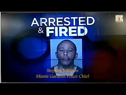 Stephen Johnson Miami Gardens Police Chief Arrested Fired Solicit Prostitutes Youtube