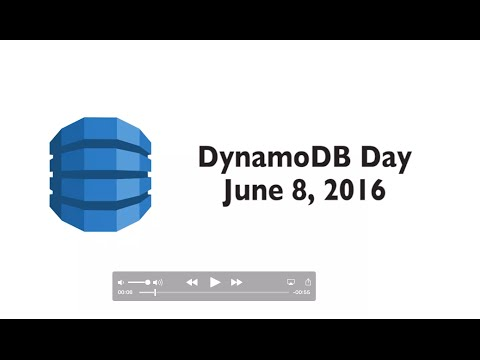 Amazon DynamoDB June 2016 Day at the SF Loft | Montage