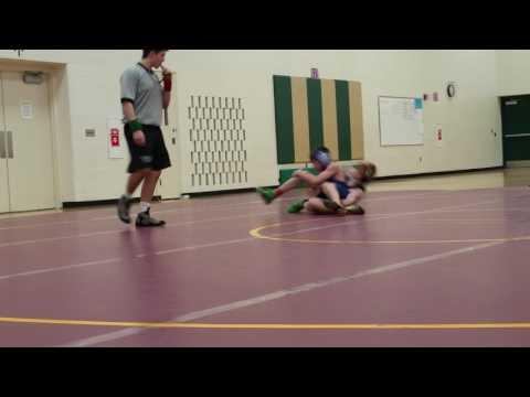 Menomonie Middle School Wrestling Meet, Match 2 Part 2