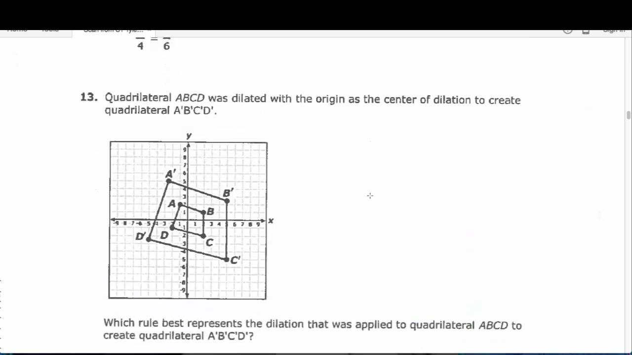 8th Grade Math Benchmark 2 2016