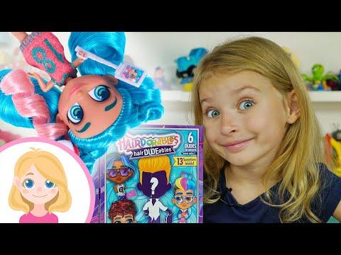 Распаковка игрушки - Куклы сюрприз Хэрдороблс - Маленькая Вера - Hairdorables hairDUDEables