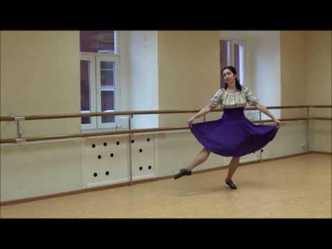 Silver Jig, a Scottish ladies' step dance