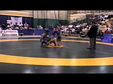 2002 World University Championships: 66 kg GR Final Bunyamin Emik (TUR) vs. Mehdi Nassiri (IRI)