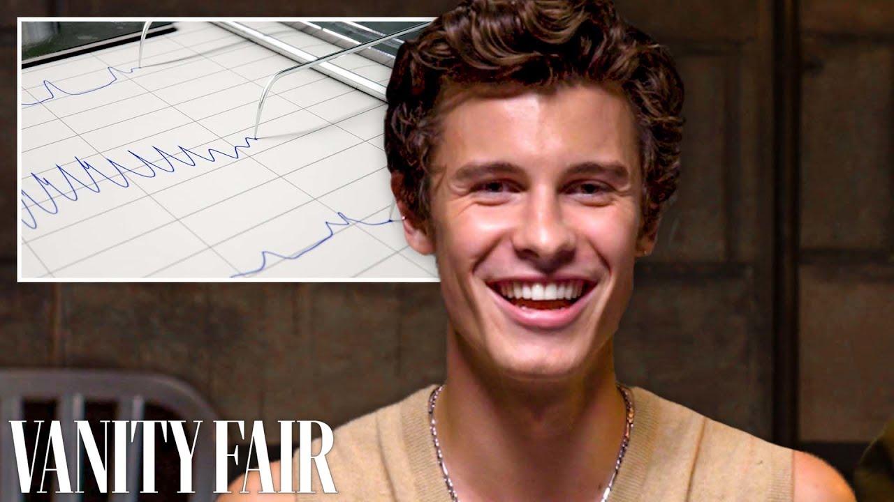 Shawn Mendes Takes a Lie Detector Test