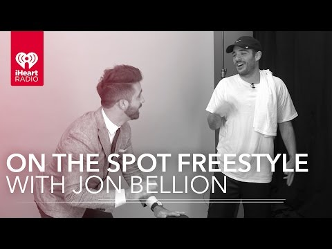 Jon Bellion Live Freestyle Rap & Interview